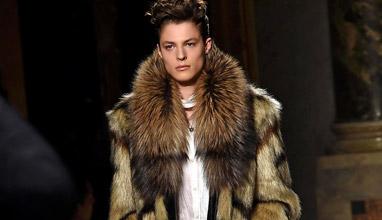 Roberto Cavalli Fall-Winter 2015/2016 collection at Milan men's fashion week