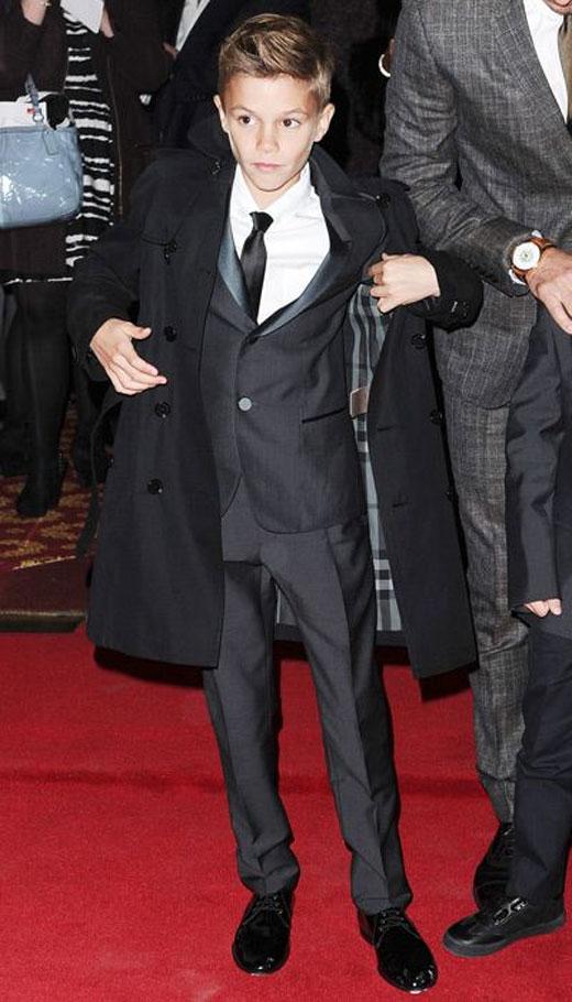 Romeo Beckham style