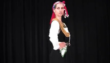 Key steps from Bulgarian folklore dances: Ruchenitza