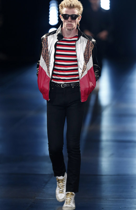 'Surf Sound' - Saint Laurent Spring-Summer 2016 menswear collection