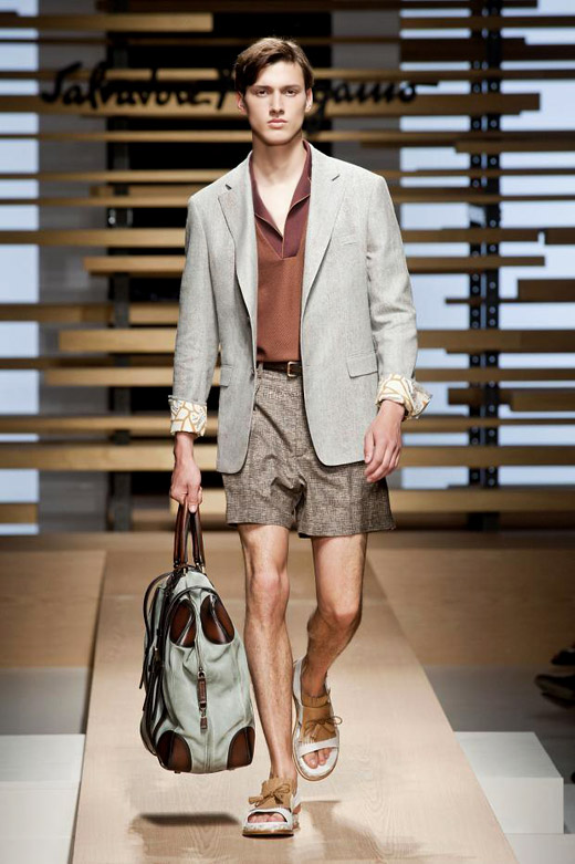 Salvatore Ferragamo Spring-Summer 2015 menswear collection