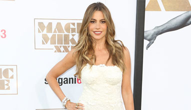 Sofia Vergara with a perfume for a special occasion