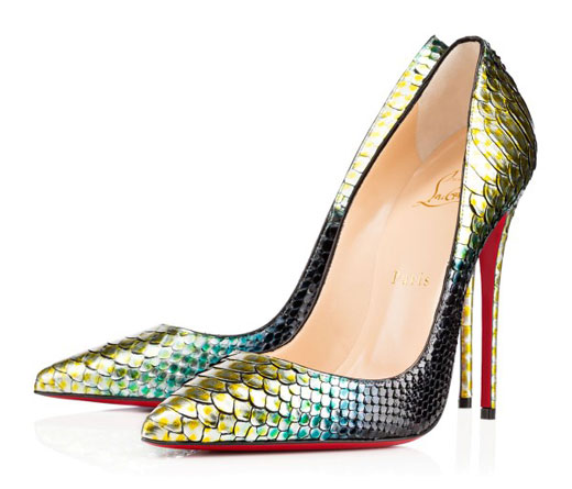 Key pieces in Christian Louboutin Spring/Summer 2015 collection