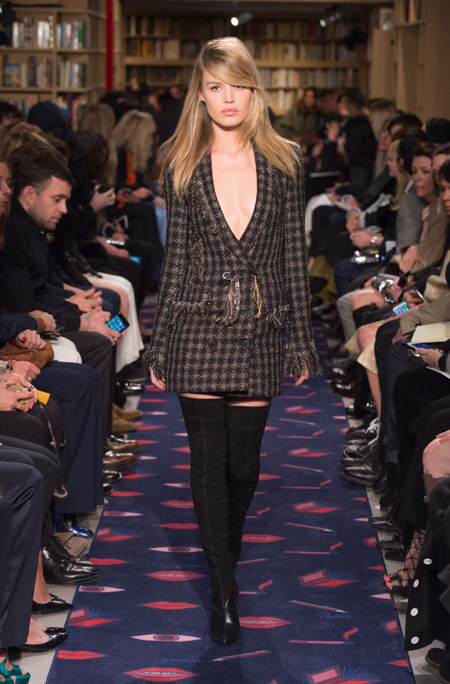 Sonia Rykiel Autumn/Winter 2015 collection at Paris Fashion Week