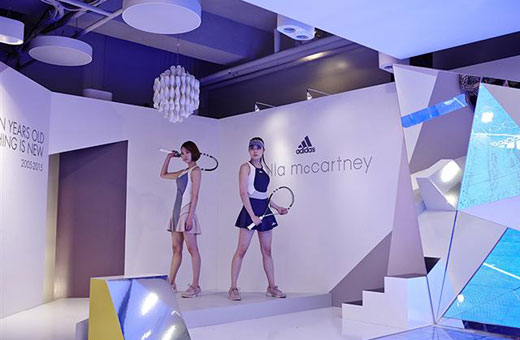 Visit adidas women's store at Cheongdam to celebrate 10th Anniversary of adidas by Stella McCartney