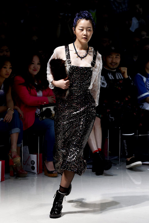Steve J & Yoni P Fall-Winter 2015 collection at Seoul Fashion Week