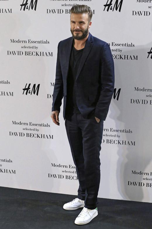 Celebrities 39 Style David Beckham