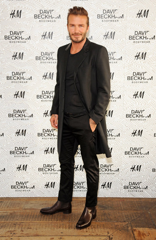 Celebrities' style: David Beckham