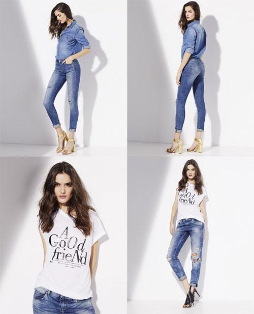 Suite blanco jeans & denim range spring / summer 2017 campaign