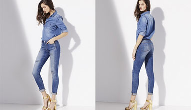 A new era for Denim - Spanish top model Blanca Padilla presents the latest in SUITEBLANCO jeans