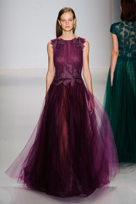Tadashi Shoji presented Fall/Winter 2015-2016 collection during MBFW New York