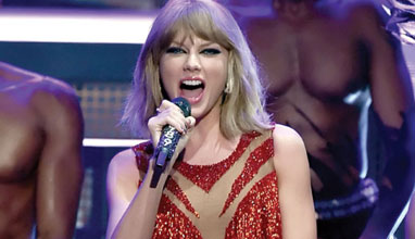 Taylor Swift's amulet by Carrera y Carrera
