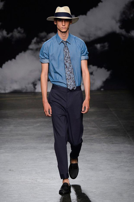 Tiger of Sweden presents Spring Summer 2016 collection at London Collections: Men