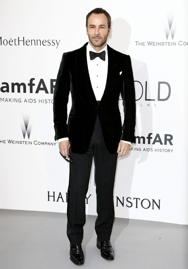 Tom Ford will present his Men's collcetion in New York