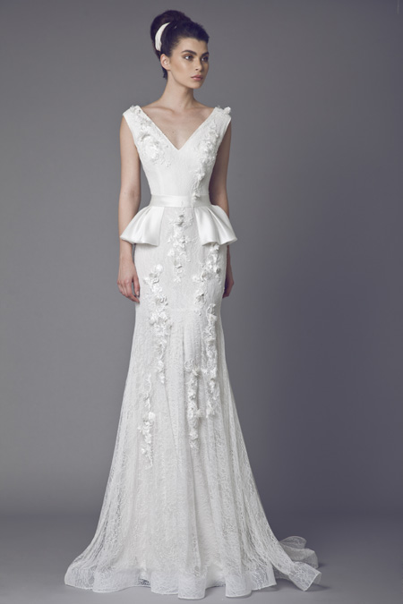 A Leaf of Faith from Tony Ward Bridal 2015