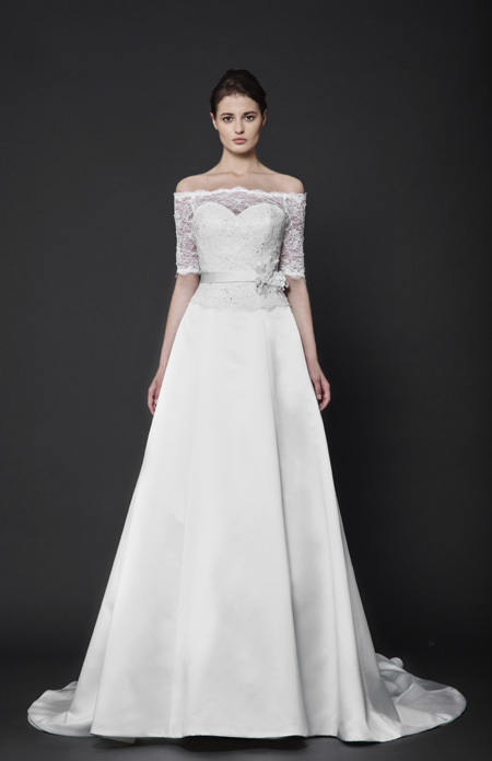 Abstract roses by Tony Ward Bridal 2016 collection