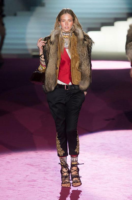 Fall/Winter 2015-2016 fashion trends: Arctic fur