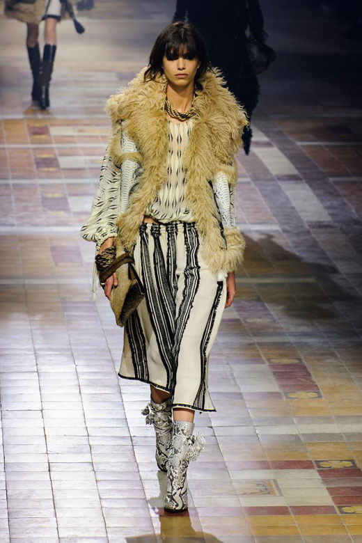 Fall/Winter 2015-2016 fashion trends: Arctic fur