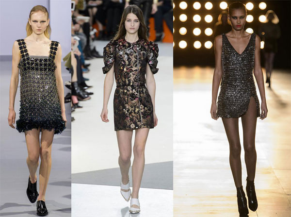Fall/Winter 2015-2016 fashion trends: Shiny outfit