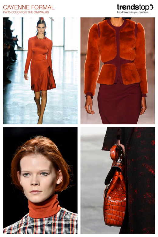 Fall-Winter 2015/2016 fashion trends: Cayenne