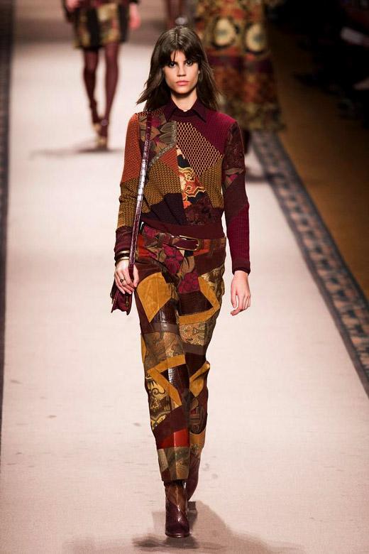 Модни тенденции Есен/Зима 2015-2016: Пачуърк