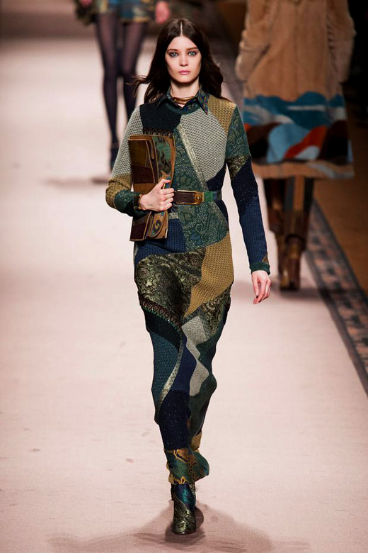 Fall/Winter 2015-2016 Fashion trends: Patchwork