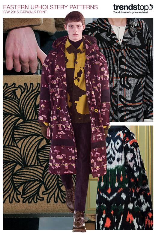 Тенденции в мъжката мода за Есен-Зима 2015/2016: Принтове