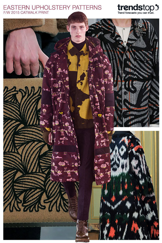 Fall-Winter 2015/2016 Menswear trends: Prints