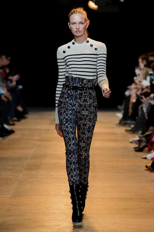 Fall/Winter 2015-2016 Fashion trends: Horizontal Stripes