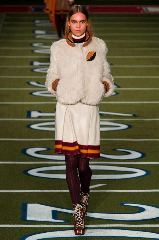 Fall/Winter 2015-2016 Fashion trends: White fur