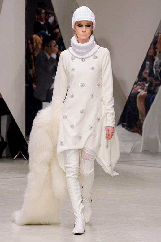 Fall/Winter 2015-2016 Fashion trends: White fur