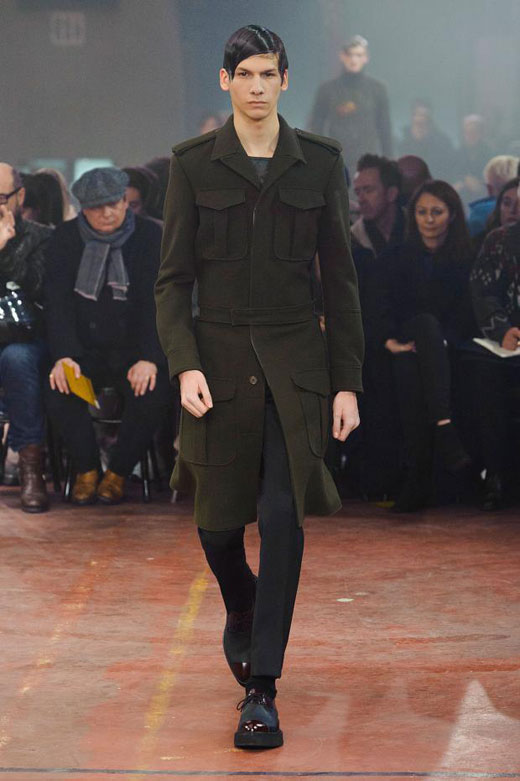 725630385b74 The green in the menswear - a key trend for Fall Winter 2015-2016