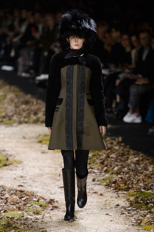 Autumn/Winter 2015-2016 Fashion Trends: Military style