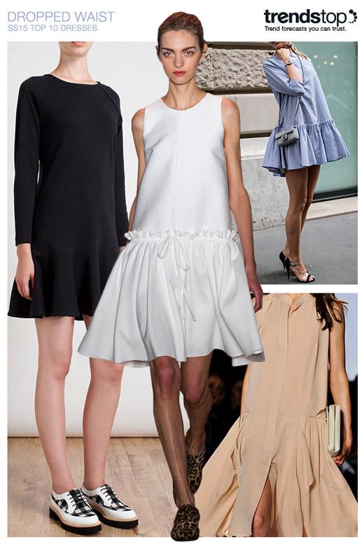Модни тенденции Пролет-Лято 2015: Рокли