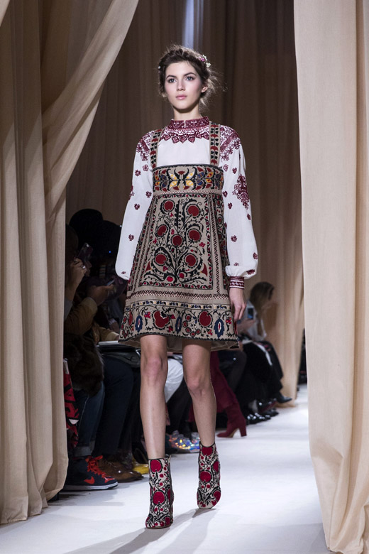 Spring-Summer 2015 Fashion trends: Eastern Folklore inspiration