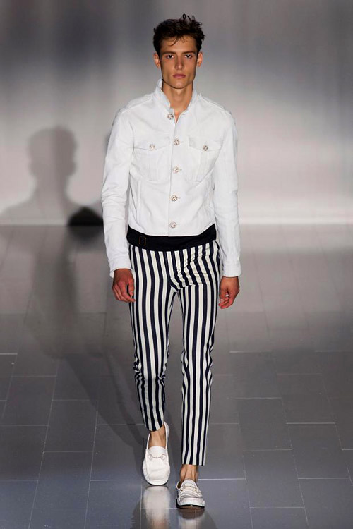 Spring-Summer 2015 menswear trends: Stripes