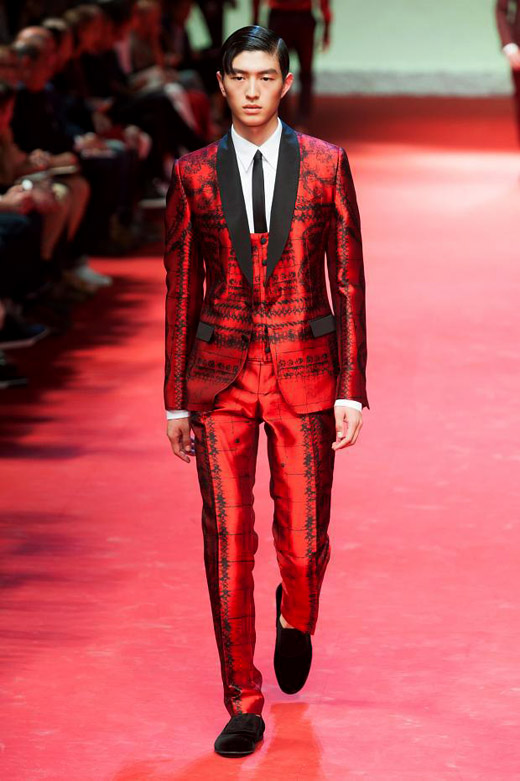 Summer 2015 menswear trends: Red