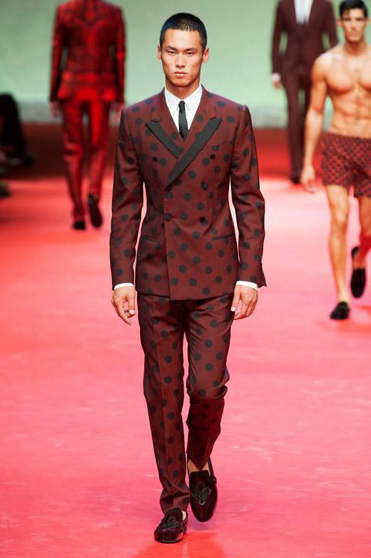 Spring-Summer 2015 menswear trends: Red