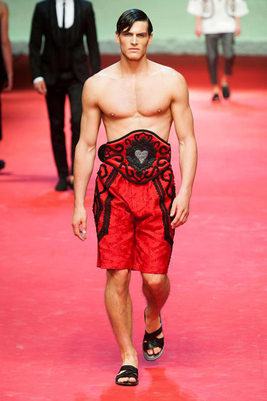Spring-Summer 2015 menswear trends: Red