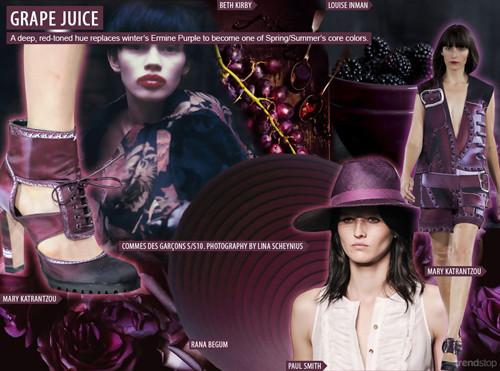 Модни тенденции Пролет-Лято 2016: Тъмни цветове