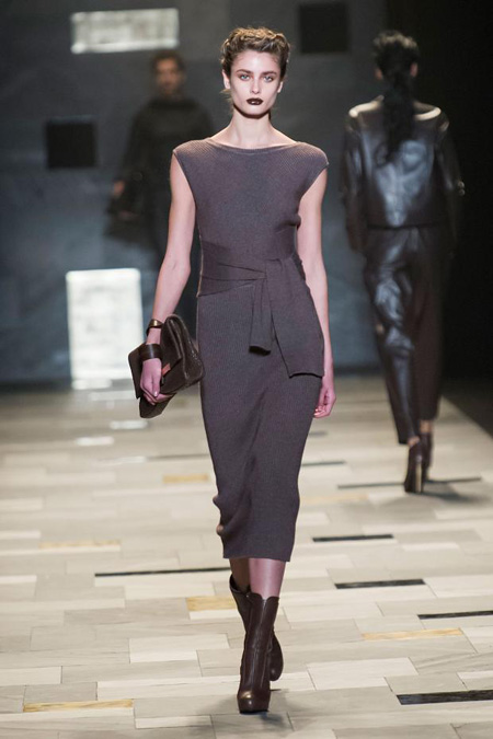 Sensuality and rigour by Trussardi Fall/Winter 2015-2016 womenswear collection