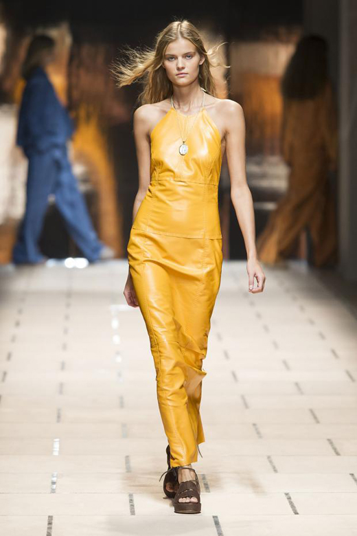 Trussardi Womenswear Spring-Summer 2016 collection