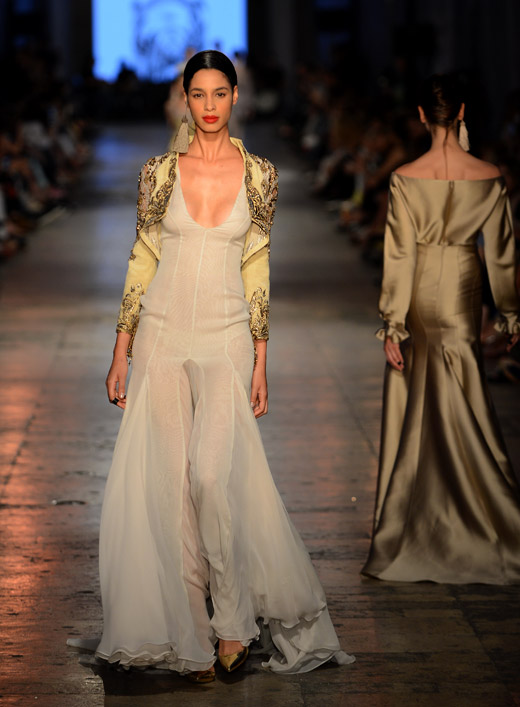Haute Couture: Tuvanam Fall-Winter 2015/2016 collection