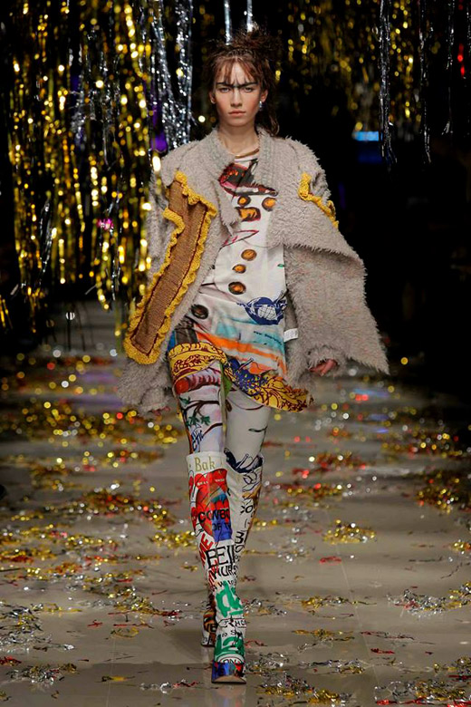 Unisex & Punk for Fall-Winter 2015/2016 by Vivienne Westwood Gold Label