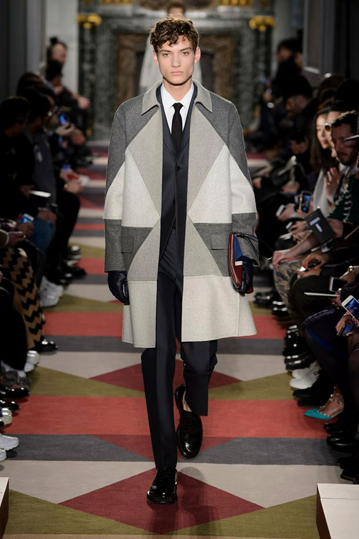 Valentino Fall-Winter 2015/2016 collection at Paris Men's Fashion Week