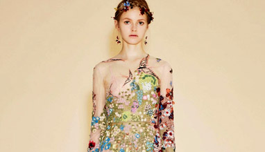 'The eye has to travel' - Valentino Resort 2016 collection