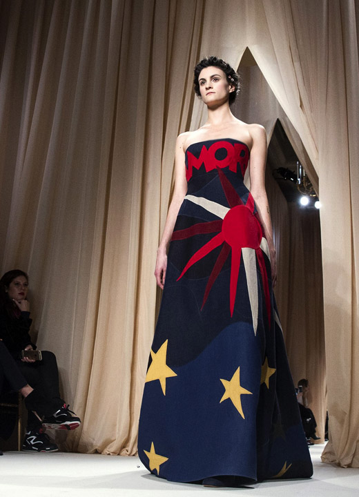 Valentino Spring-Summer 2015 Haute Couture collection at Paris Fashion Week