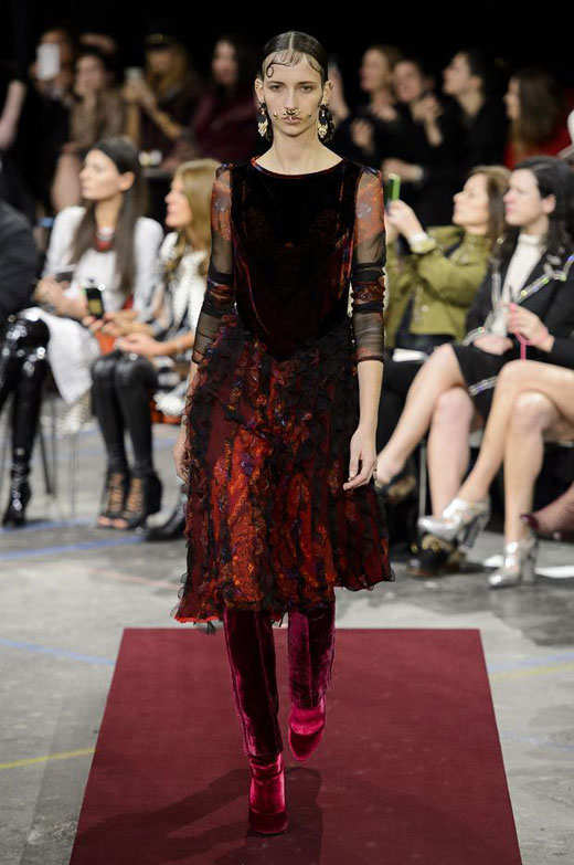 Autumn/Winter 2015-2016 trends: Velvet