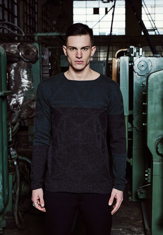 Men's fashion: Knitwear for Fall-Winter 2015/2016 by Vittorio Branchizio