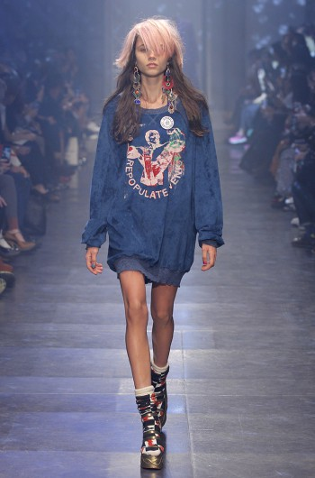 'Mirror the World' - Vivienne Westwood Gold Label Spring-Summer 2016 collection